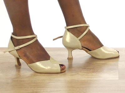 Tanzschuhe Damen ✅ Gold, Bronze, Kupfer, Diamant
