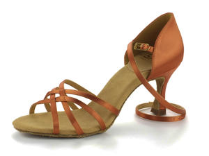 RayRose 835-X Monsoon Dark Tan Satin 6,5
