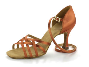 RayRose 860-X Kalahari Dark Tan Satin 6,5
