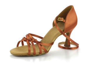 RayRose 879-X Amazon Dark Tan Satin 6,5