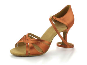RayRose 884-X Aura Dark Tan Satin 6,5